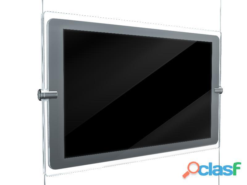 Expositor dinámico pantallas lcd escaparate inmobiliaria