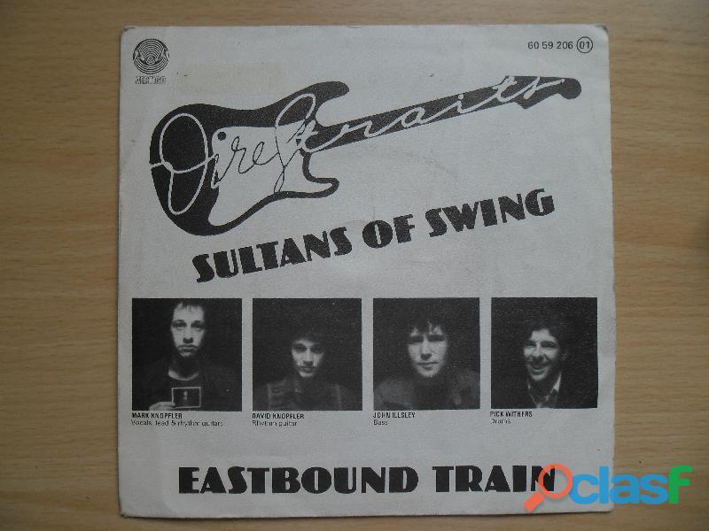 DIRE STRAITS SULTANS OF SWING SINGLE VINILO 1978