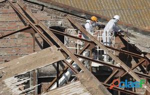 Y retirar amianto, uralita, fibrocemento o asbesto de tejados viejos. empresa homologada