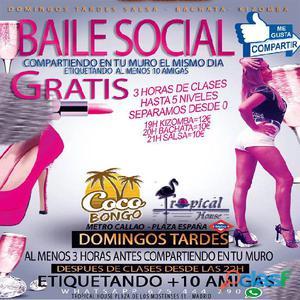 Baile social gratis en madrid (cocobongo)