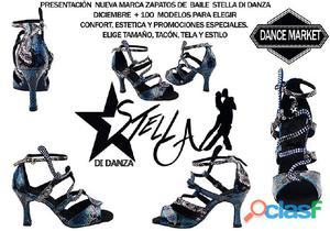 Zapatos de baile stella di danza (presentacion en diciembre)