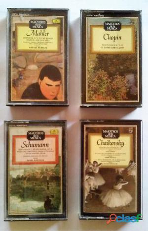 23 cassettes música clásica