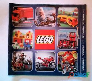 2 catálogos de lego