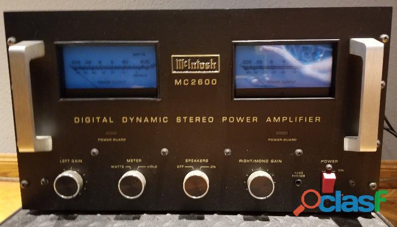 Amp.mcintosh mc 2600 led/1200 w