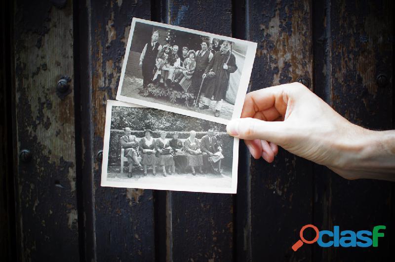 Empresa especialista en digitalización de fotografías