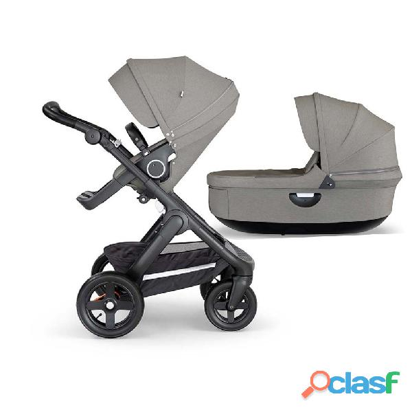 Stokke® trailz ™ black complete brushed gray   elija su chasis