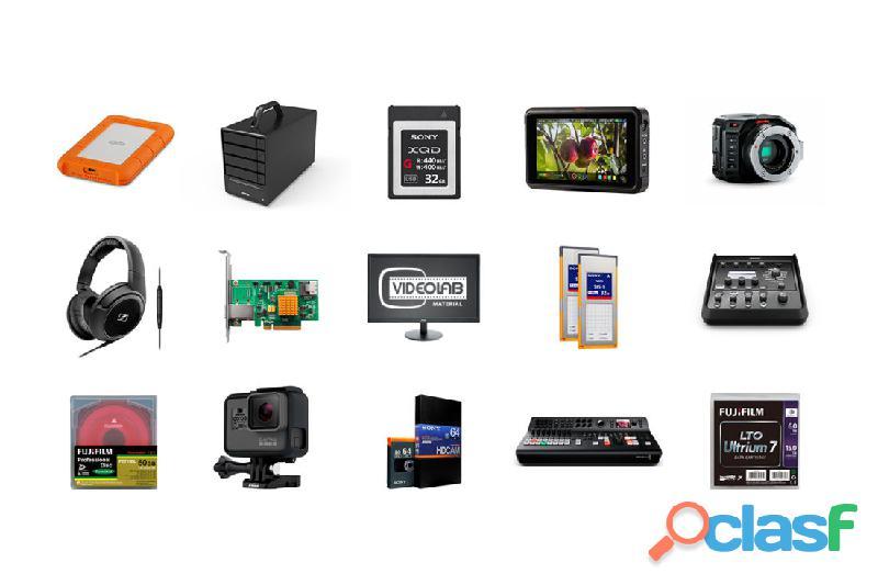Videolab shop, nueva tienda online de venta de material audiovisual