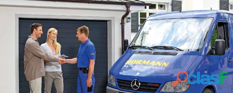 Hazte distribuidor de la empresa Hörmann