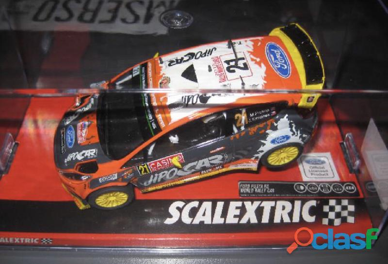 Ford fiesta rally scalextric