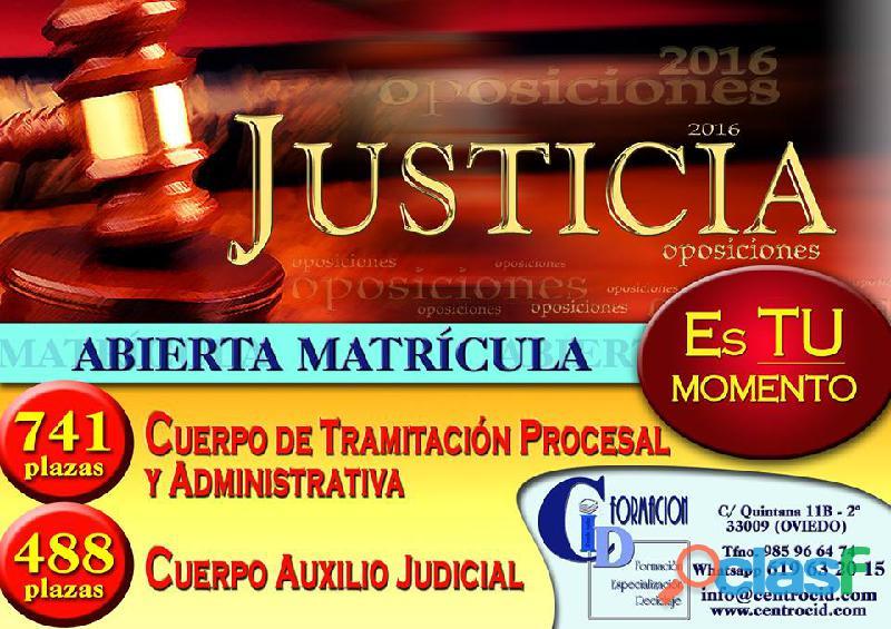 Oposiciones al cuerpo de justicia – centro de formacion cid.