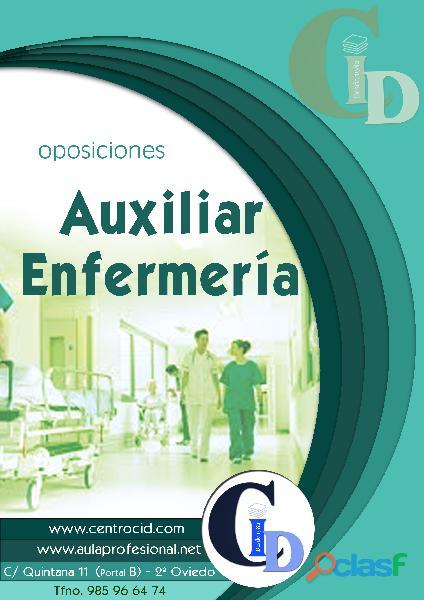 Oposiciones auxiliar de enfermería – centro de formación cid