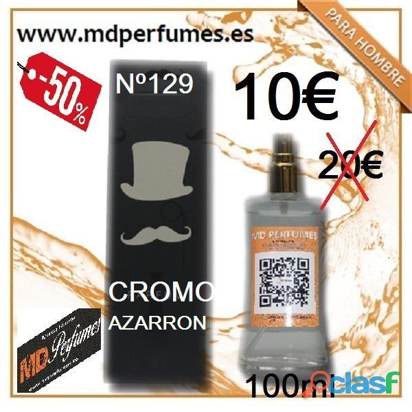 Perfume Hombre Cromo Azarron Equivalente 100ml 10€ Alta Gama