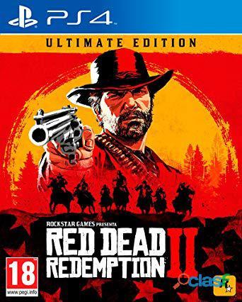 Red dead redemption 2 ps4 seminuevo