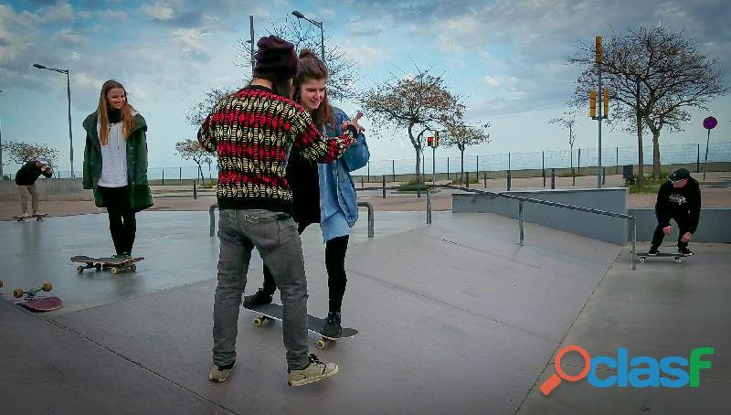 Clases (lesson) de skateboard en barcelona!!!