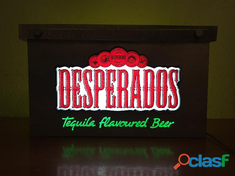Cartel luminoso DESPERADOS