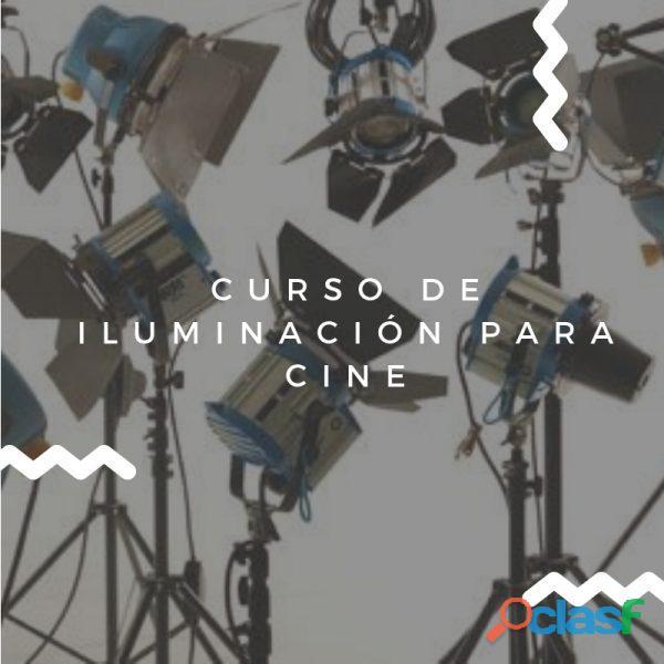 Curso de iluminación para cine