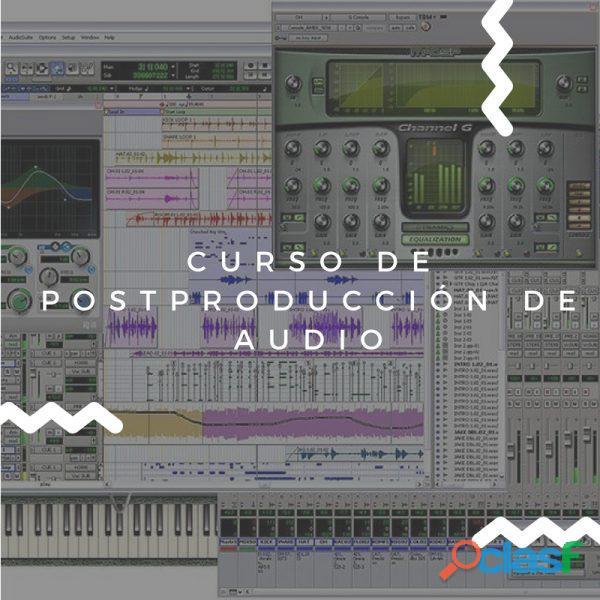 Curso de posproducción de audio