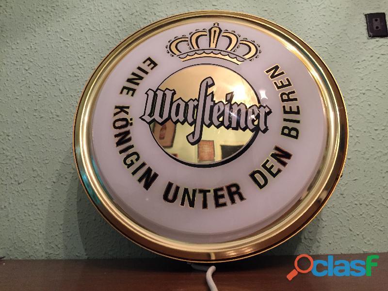 Cartel luminoso cerveza Wasfteiner