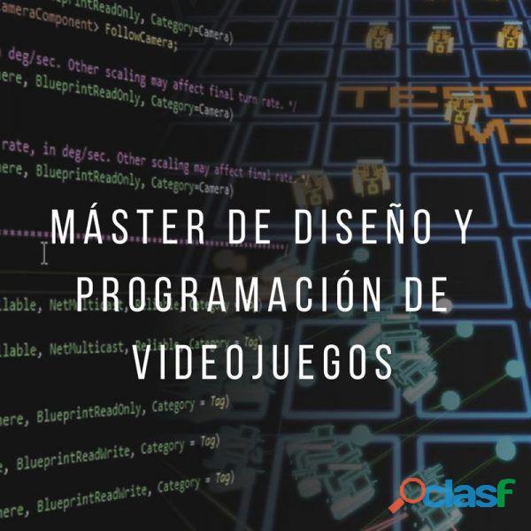 Máster de diseño y programación de videojuegos. filmosofía