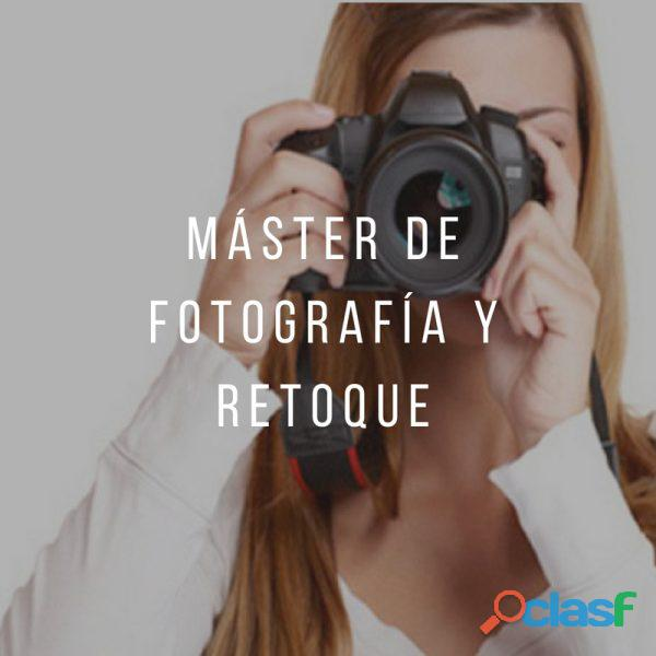 Máster de fotografía y retoque digital. filmosofía
