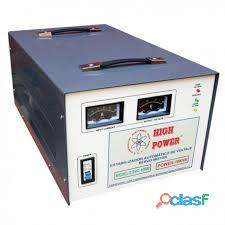 Venta y fabricacion estabilizadores,reguladores de voltaje y transformadores elevadores