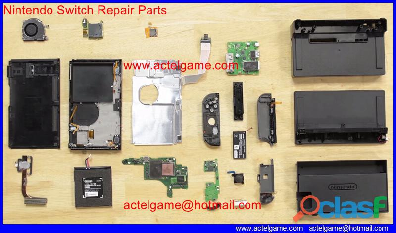 Nintendo switch repair parts spare parts repuestos