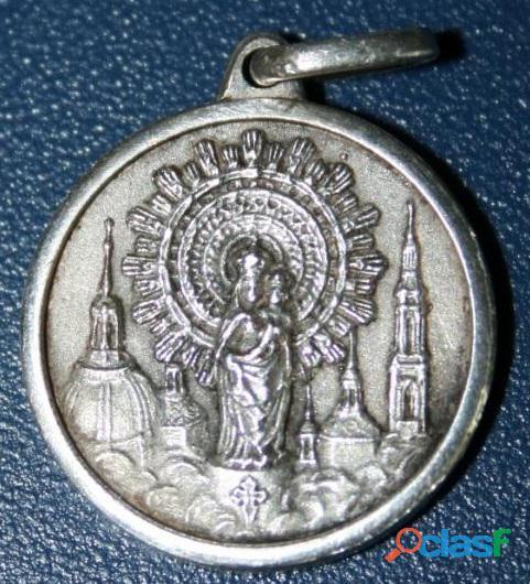 Medallas virgen pilar en oro ,variedad de modelos
