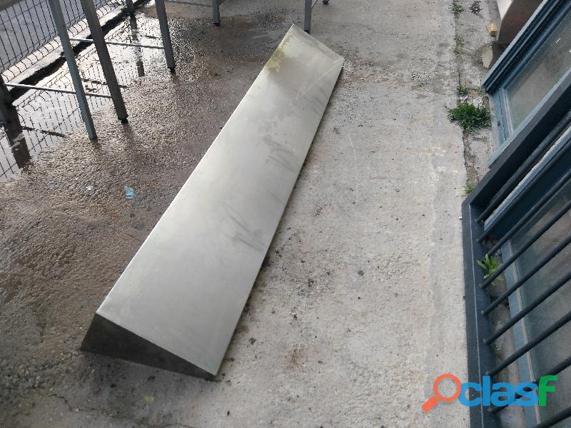 Leja de pared de acero inox