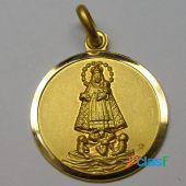 Medallas caridad del cobre oro