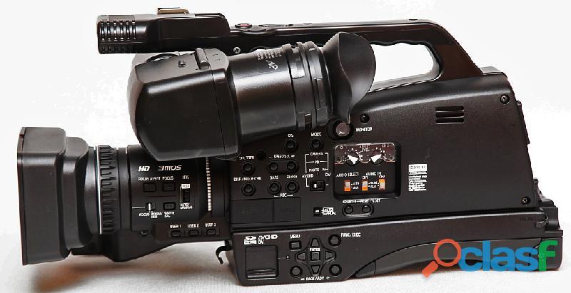 Videocámara profesional panasonic ag hmc81