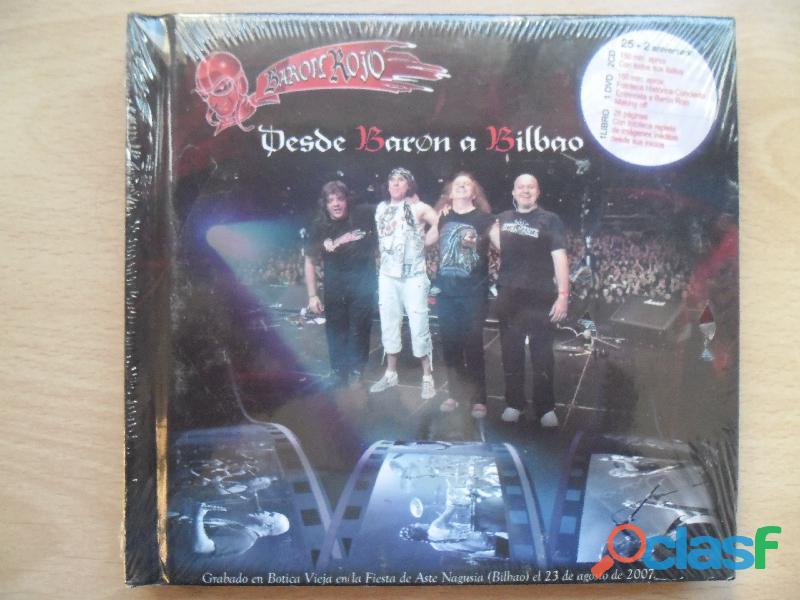 CDS BARON ROJO MURO OBUS NUEVOS HEAVY METAL PRECINTADO