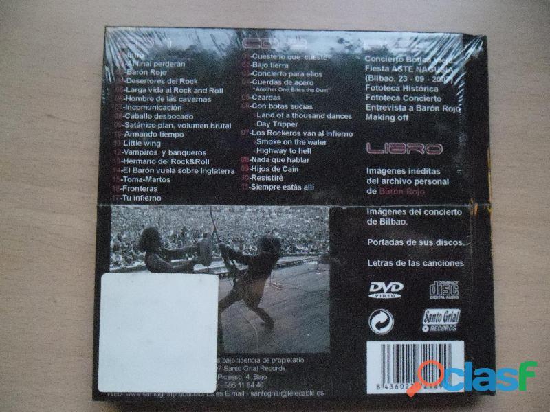 CDS BARON ROJO MURO OBUS NUEVOS HEAVY METAL PRECINTADO 1