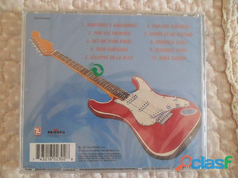 CDS BARON ROJO MURO OBUS NUEVOS HEAVY METAL PRECINTADO 3