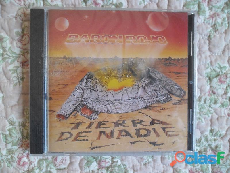 CDS BARON ROJO MURO OBUS NUEVOS HEAVY METAL PRECINTADO 9