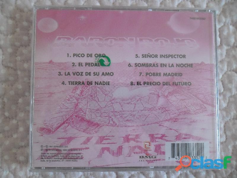 CDS BARON ROJO MURO OBUS NUEVOS HEAVY METAL PRECINTADO 8