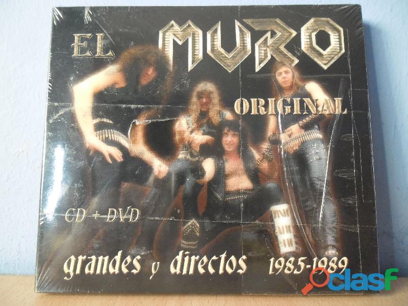 CDS BARON ROJO MURO OBUS NUEVOS HEAVY METAL PRECINTADO 7