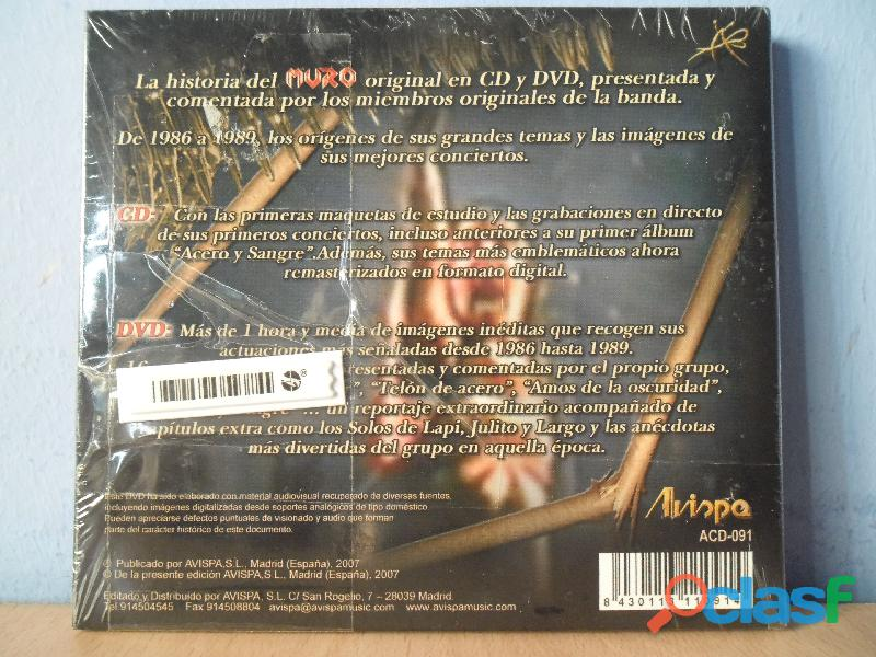CDS BARON ROJO MURO OBUS NUEVOS HEAVY METAL PRECINTADO 6