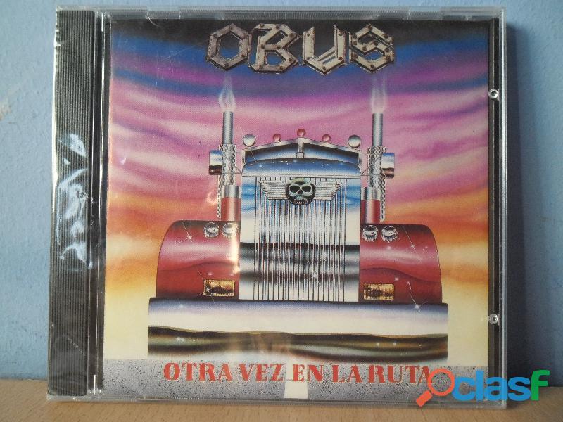 CDS BARON ROJO MURO OBUS NUEVOS HEAVY METAL PRECINTADO 5