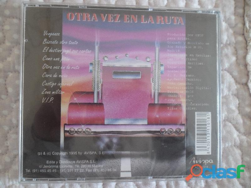 CDS BARON ROJO MURO OBUS NUEVOS HEAVY METAL PRECINTADO 4