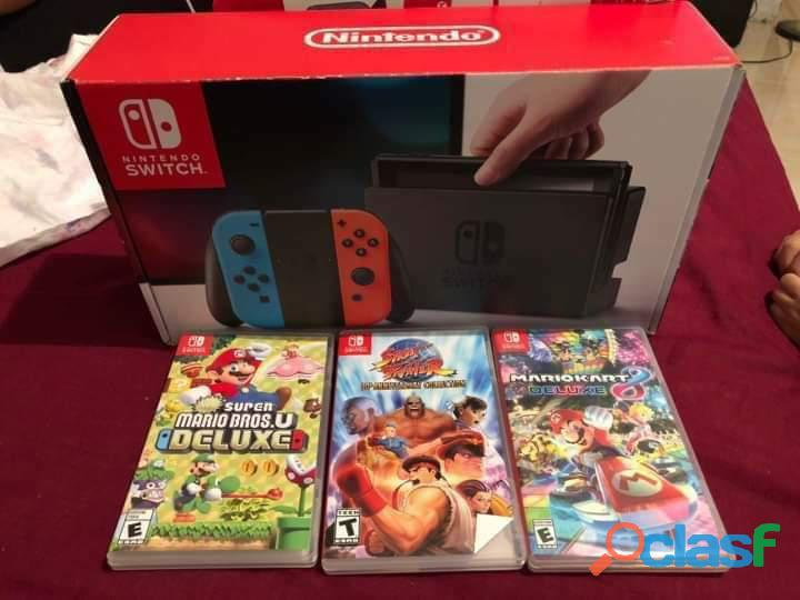 Nintendo switch precintada