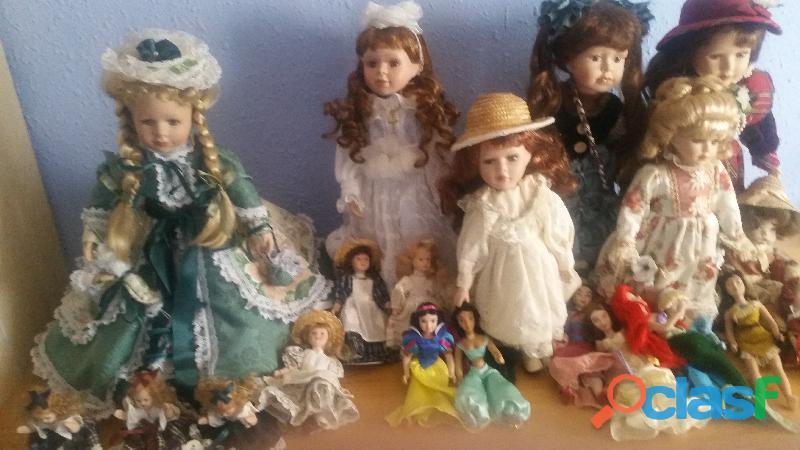 Vendo muñecas porcelana