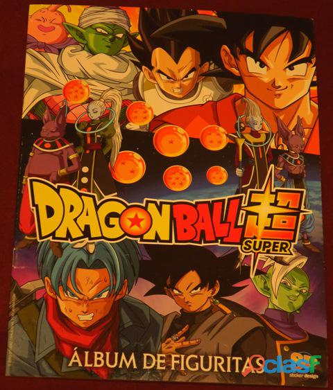 Album dragon ball super argentino + 50 sobres