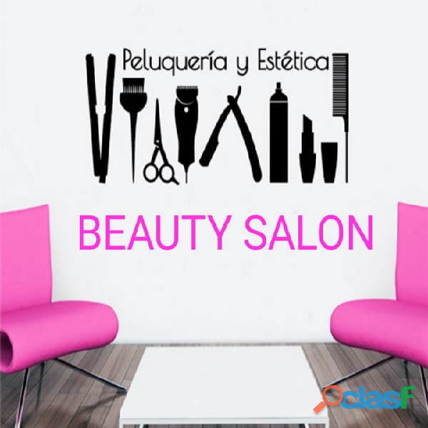 Peluquería a domicilio beauty salon