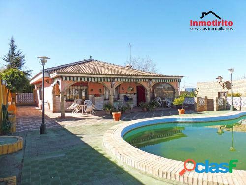 Chalet independiente en sanlúcar la mayor