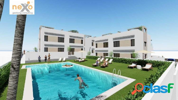 Apartamentos nuevos en punta prima desde 186.900 €