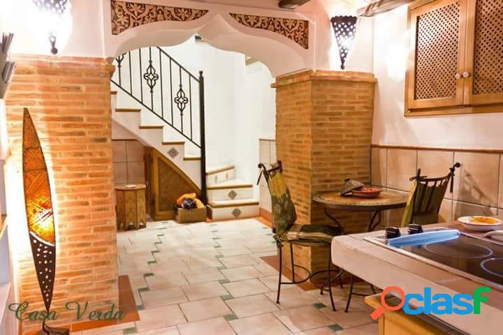 Preciosa casa rural en sella de estilo árabe