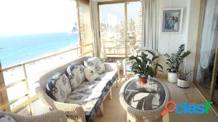 Apartamento en primera línea playa de poniente
