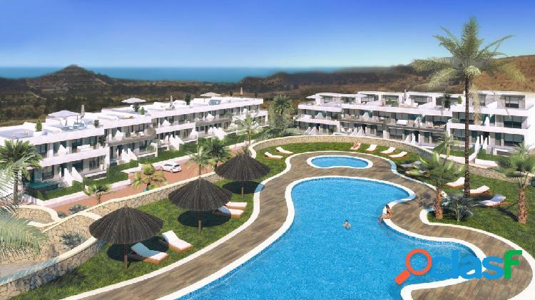Nuevo residencial de obra nueva en finestrat - duplex con jardín junto a la playa