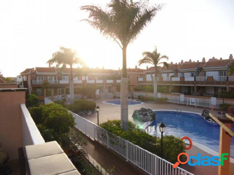 Costa del silencio atico 45 m2 con solarium de 35 m y terraza 15 metros con vistas al mar