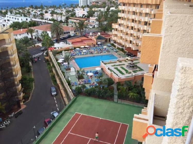 Playa las amerias piso 1 habitación con vistas al mar y reformado en complejo de calidad a 300 metro